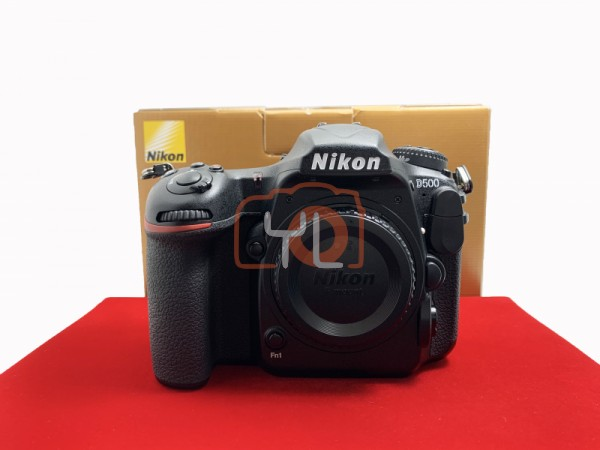 [USED-PJ33] Nikon D500 Body (Shutter Count: 45K), 90% Like New Condition (S/N:8505331)