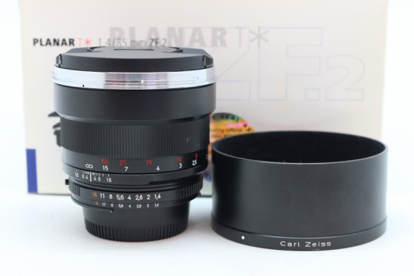 [USED-PUDU] ZEISS Planar T* 85mm f1.4 ZF.2 Lens for Nikon F 90%LIKE NEW CONDITION SN:15894689