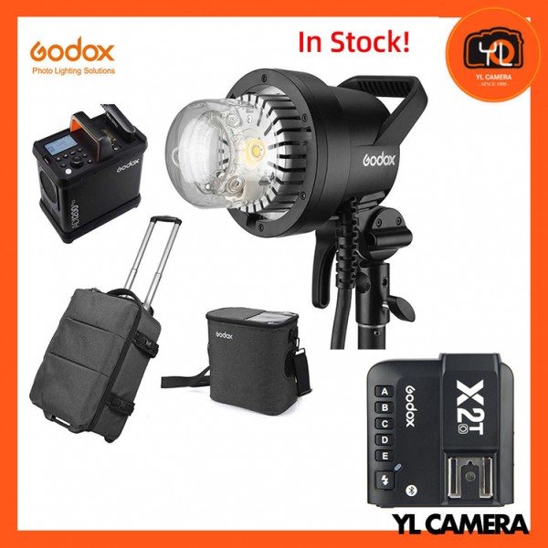 Godox AD1200Pro Battery Powered Flash System With Godox X2 2.4 GHz TTL Wireless Flash Trigger for Olympus/Panasonic Combo Set