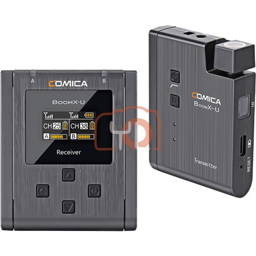 Comica Audio BoomX-U U1 Compact Wireless Microphone System for Mirrorless/DSLR Cameras