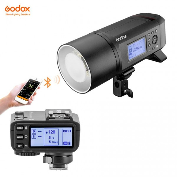 Godox AD600Pro Witstro All-In-One Outdoor Flash X2T-C Fro Canon Combo