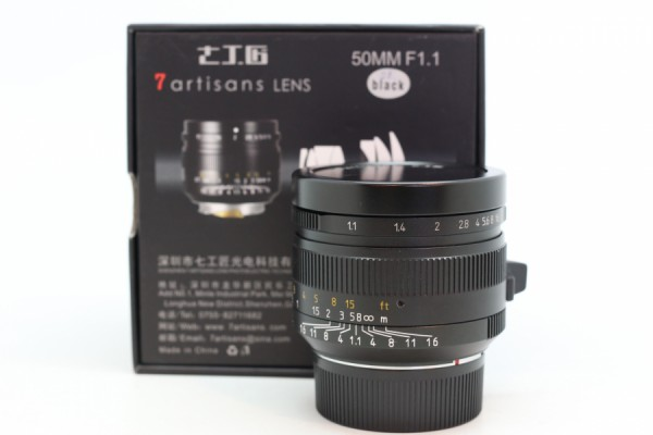 [USED-PUDU] 7artisans 50MM F1.1 For Leica M 90%LIKE NEW CONDITION SN:657330