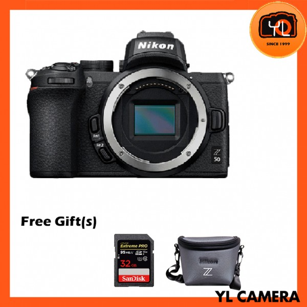 Nikon Z 50 Mirrorless Digital Camera (Free 32GB SD Card & Camera Bag)