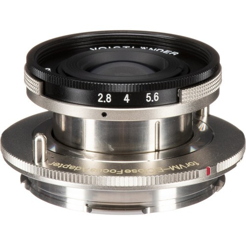 Voigtlander 40mm F2.8 Heliar Lens (For Leica M-Mount)