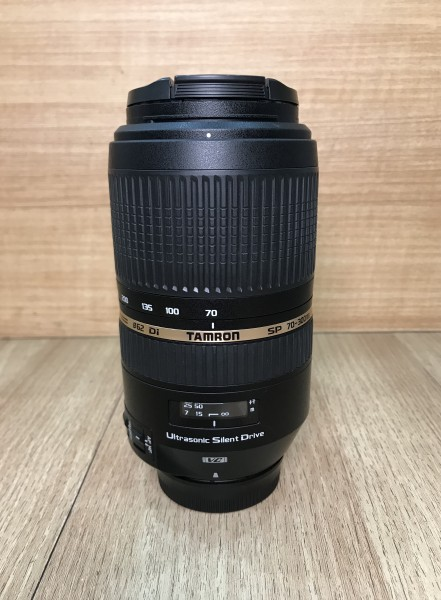 [USED @ YL LOW YAT]-Tamron SP 70-300mm F4-5.6 DI USD VC Lens For Nikon,90% Condition Like New,S/N:200265