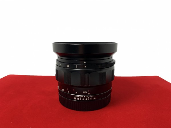 [USED-PJ33] Voigtlander 35MM F1.4 Nokton Classic (Sony E-Mount), 80% Like New Condition (S/N:08841592)