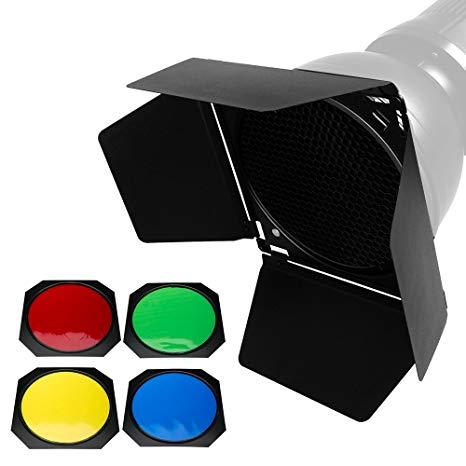 Godox BD-04 Barndoor Color Gel Kit