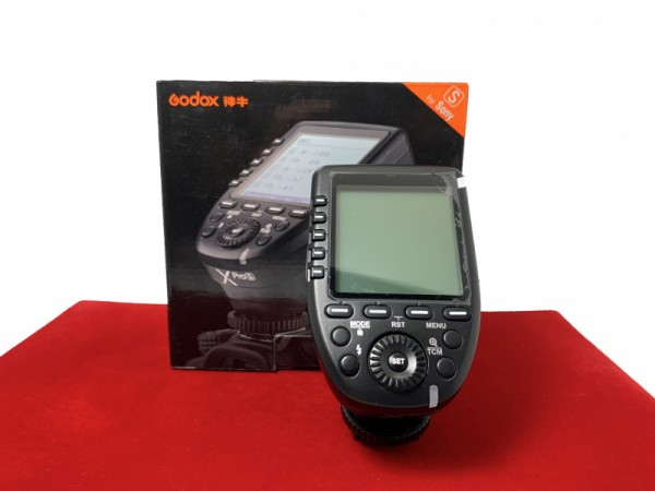 [USED-PJ33]  Godox Xpro-S TTL Wireless Flash Trigger (Sony), 95% Like New Condition (S/N:18082200015)