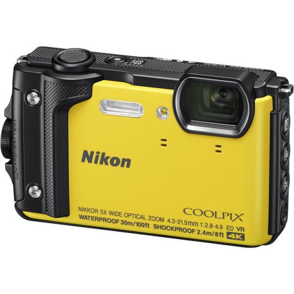 Nikon COOLPIX W300 Waterproof Camera - Yellow