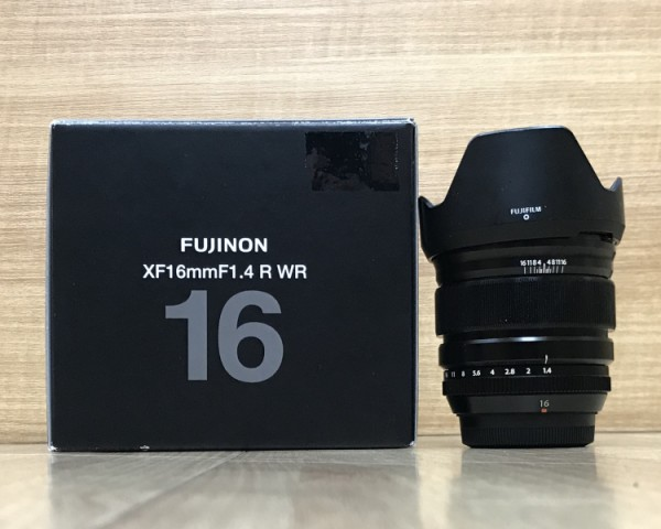 [USED @ YL LOW YAT]-Fujifilm XF 16mm F1.4 R WR Lens,95% Condition Like New,S/N:67A00427