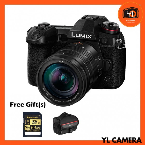 Panasonic Lumix DC-G9 + 12-60mm F2.8-4 ASPH. [Free Panasonic 64BG SD Card & Camera Bag]