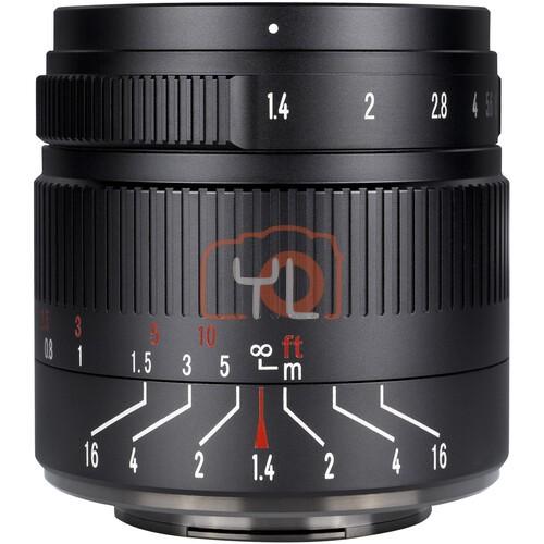 7artisans 55mm F1.4 Mark II (Fujifilm XF)