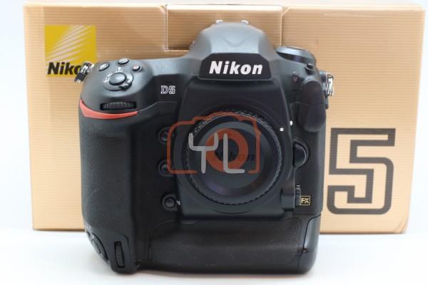 [USED-PJ33] NIKON D5 CAMERA BODY (XQD Version) , 85%LIKE NEW CONDITION S/N:7100032
