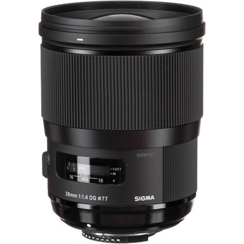 Sigma 28mm F1.4 DG HSM ART Lens (Canon EF)