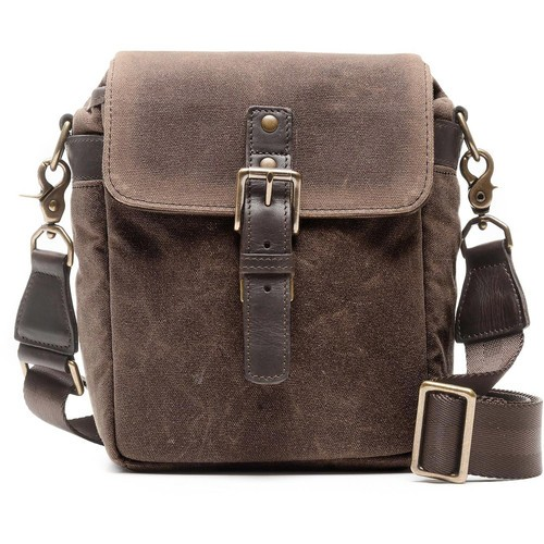ONA Bond Street Waxed Canvas Camera Bag (Oak)