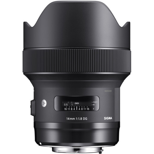 Sigma 14mm f/1.8 DG HSM Art Lens (Canon EF)