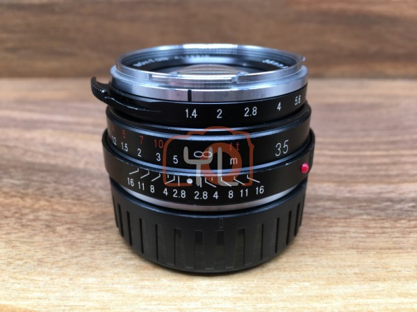 [USED @ YL LOW YAT]-Voigtlander 35MM F1.4 Nokton Classic M.C. VM For Leica M,85% Condition Like New,S/N:8230435