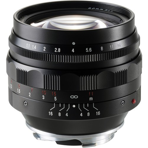 Voigtlander 50mm F/1.1 Nokton Lens (For Leica M-Mount)