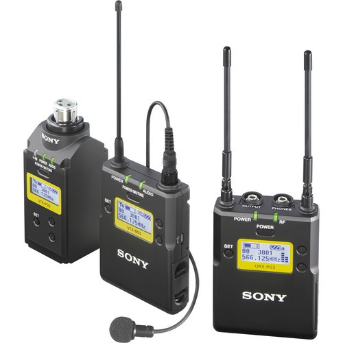 Sony UWP-D16 Camera-Mount Wireless Combo Microphone System