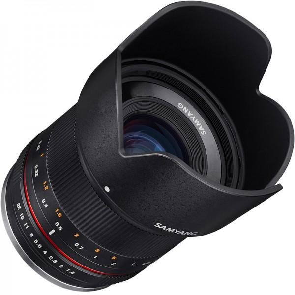Samyang 21mm F1.4 Lens for Sony E (Black)