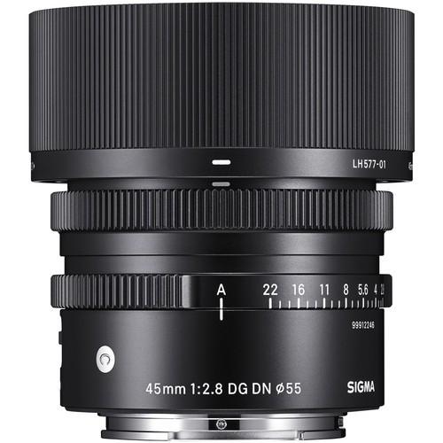 Sigma 45mm f/2.8 DG DN Contemporary Lens (Leica L/Panasonic L)