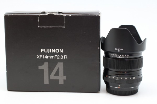 [USED-PUDU] FUJIFILM 14MM F2.8 R XF LENS 90%LIKE NEW CONDITION SN:31A14528