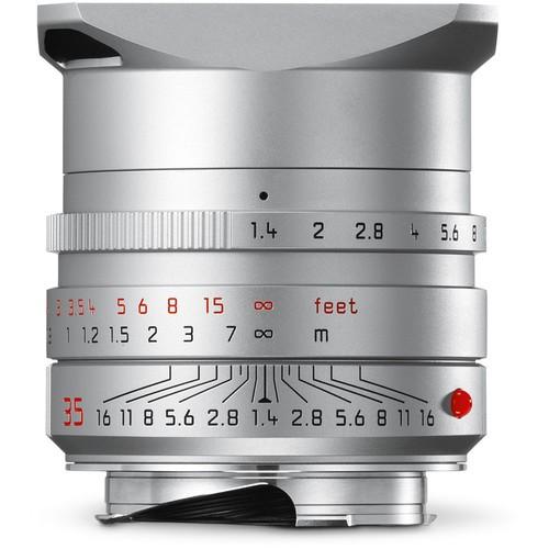 Leica 35mm F1.4 Summilux-M ASPH. - Silver (11675)