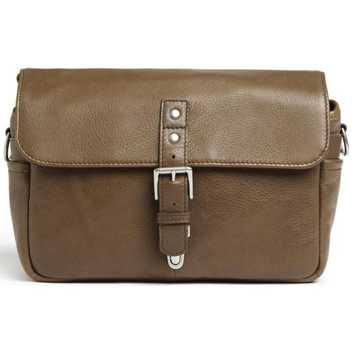 ONA Bowery Camera Bag (Pebbled Leather, Olive)