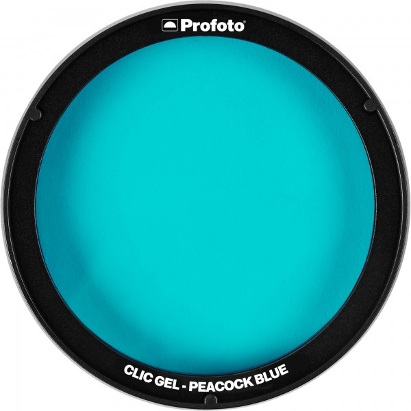 (PREORDER) Profoto Clic Gel Peacock Blue