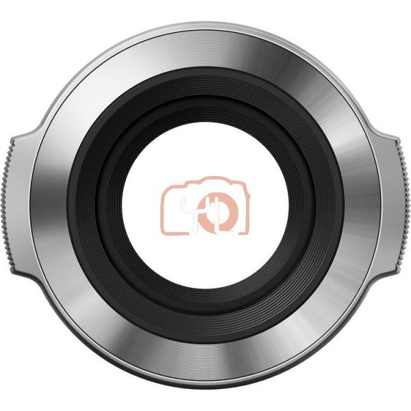 Olympus LC-37C Auto Open Lens Cap for M.Zuiko Digital ED 14-42mm f/3.5-5.6 EZ Lens (Silver)