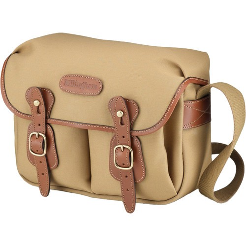 Billingham Hadley Shoulder Bag Small (Khaki with Tan Leather Trim)