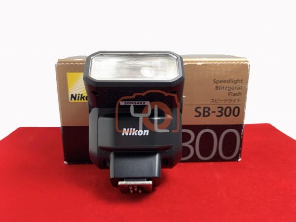 [USED-PJ33] Nikon SB-300 Speedlight,95% Like New Condition (S/N:2000492)