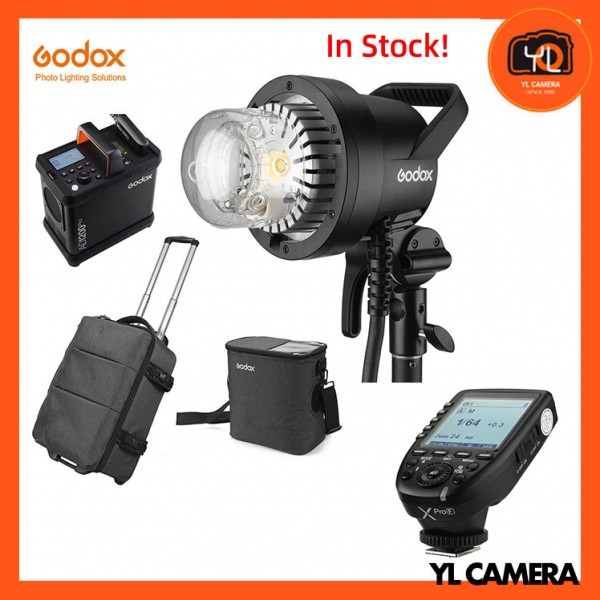 Godox AD1200Pro Battery Powered Flash System With XPro TTL Wireless Flash Trigger for Fujifilm Combo Set