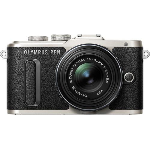 Olympus E-PL8 +  M.Zuiko 14-42mm EZ (Black) [Free Lexar 32GB 95MB SD Card + Benro Freeshoot 30 Camera Bag]