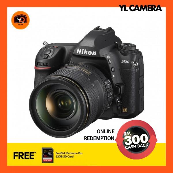 (Pre-Order) Nikon D780 + AF-S 24-120mm F4 G ED VR