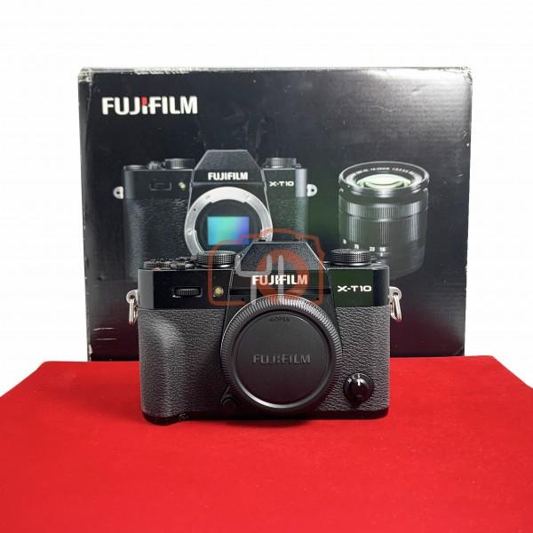 [USED-PJ33] Fujifilm X-T10 Body, 80% Like New Condition (S/N:58L04494)