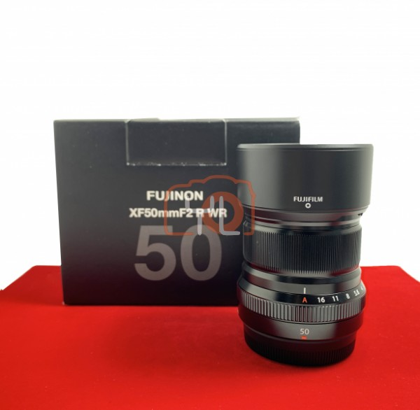 [USED-PJ33] Fujifilm 50MM F2 R XF WR,95% Like New Condition (S/N:77A12592)