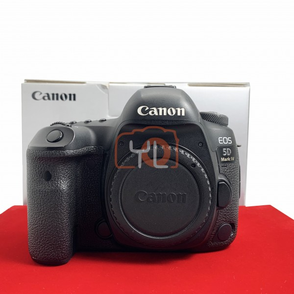 [USED-PJ33] Canon Eos 5D Mark IV Body (Shutter Count :52K) , 80% Like New Condition (S/N:18021002547)