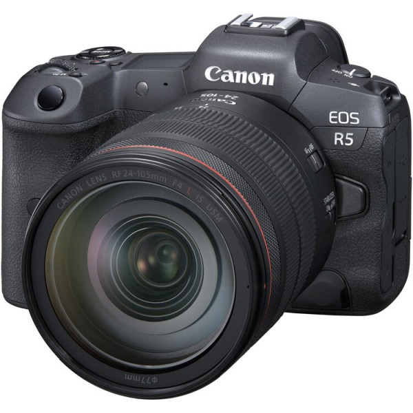 Canon EOS R5 + RF 24-105mm F4 L IS USM [ETA: August 2020]