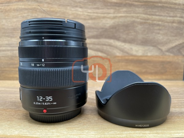 [USED @ YL LOW YAT]-Panasonic Lumix G X Vario 12-35mm F2.8 ASPH. POWER O.I.S. Lens,90% Condition Like New,S/N:XT9CC101572