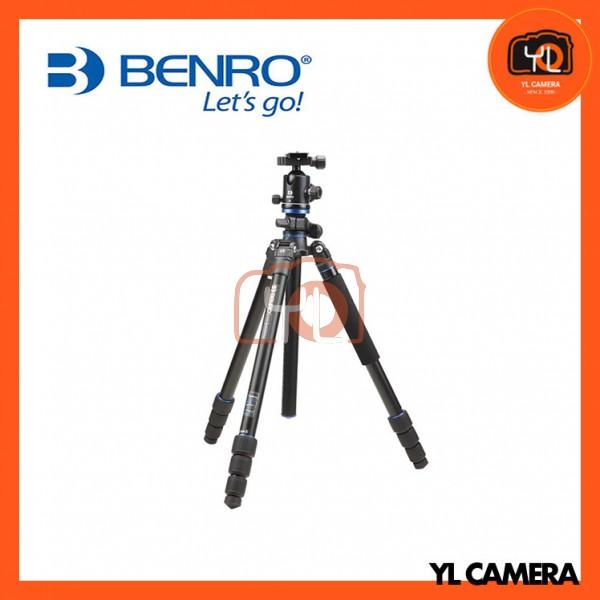 Benro FGP28AB2 Go Plus 4-Section Aluminum Travel Tripod With Ball Head Kit