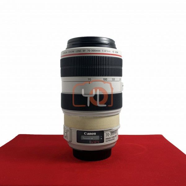 [USED-PJ33] Canon 70-300mm F4-5.6 EF L IS USM (No Hood), 85% Like New Condition (S/N:7610001003)
