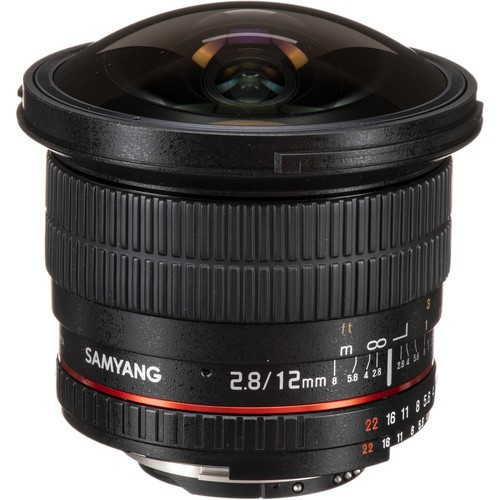 Samyang 12mm F2.8 ED AS NCS Fisheye Lens for Nikon F Mount with AE Chip