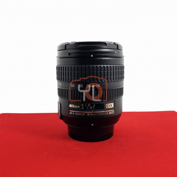 [USED-PJ33] Nikon 18-70MM F3.5-4.5 G DX AFS, 95% Like New Condition (S/N:2866586)