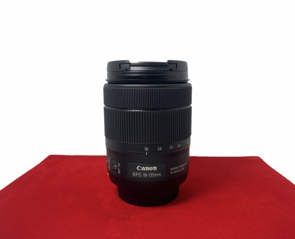 [USED-PJ33] Canon 18-135MM F3.5-5.6 IS USM EFS, 95% Like New Condition (S/N:3802002233)