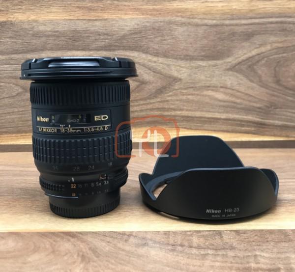 [USED @ YL LOW YAT]-Nikon AF 18-35mm F3.5-4.5 D Nikkor Lens,90% Condition Like New,S/N:513470