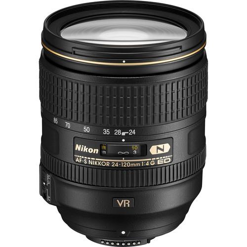 Nikon 24-120mm F4G AF-S VR