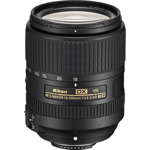 Nikon DX 18-300mm F3.5-6.3G AF-S