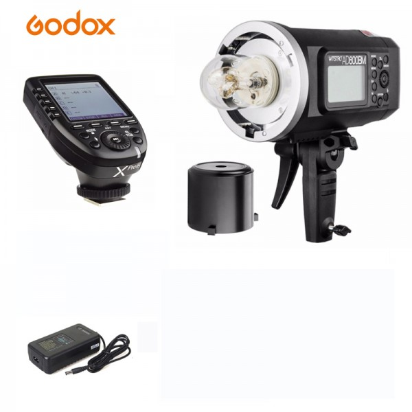 Godox AD600BM Witstro Manual All-In-One Outdoor Flash XPro-F Fro Fujifilm Combo Set
