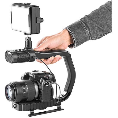 Sevenoak MicRig Stereo Built-In with Camera Stabilizer